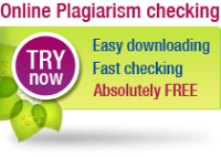 Plagiarism checking tool - the most accurate and absolutely FREE!